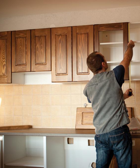 Готовые фасады для кухни спб